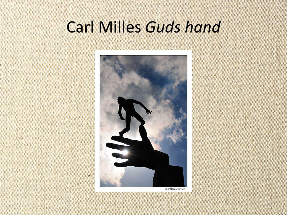 Carl Milles Guds hand