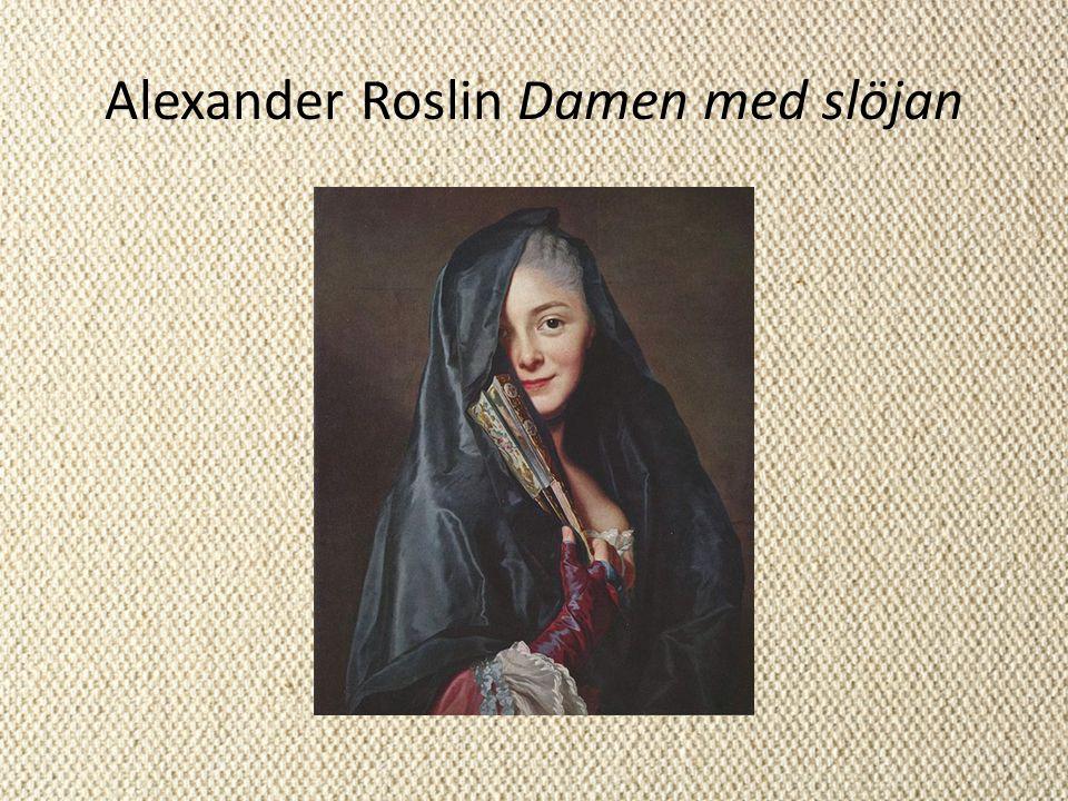 Alexander Roslin Damen med slöjan