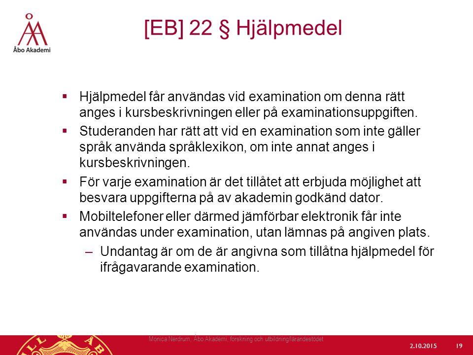 Monica Nerdrum, Åbo Akademi, forskning och utbildning/lärandestödet
