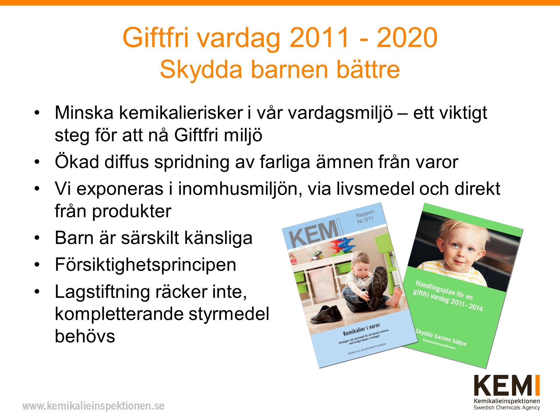Giftfri vardag 2011 - 2020 Skydda barnen bättre