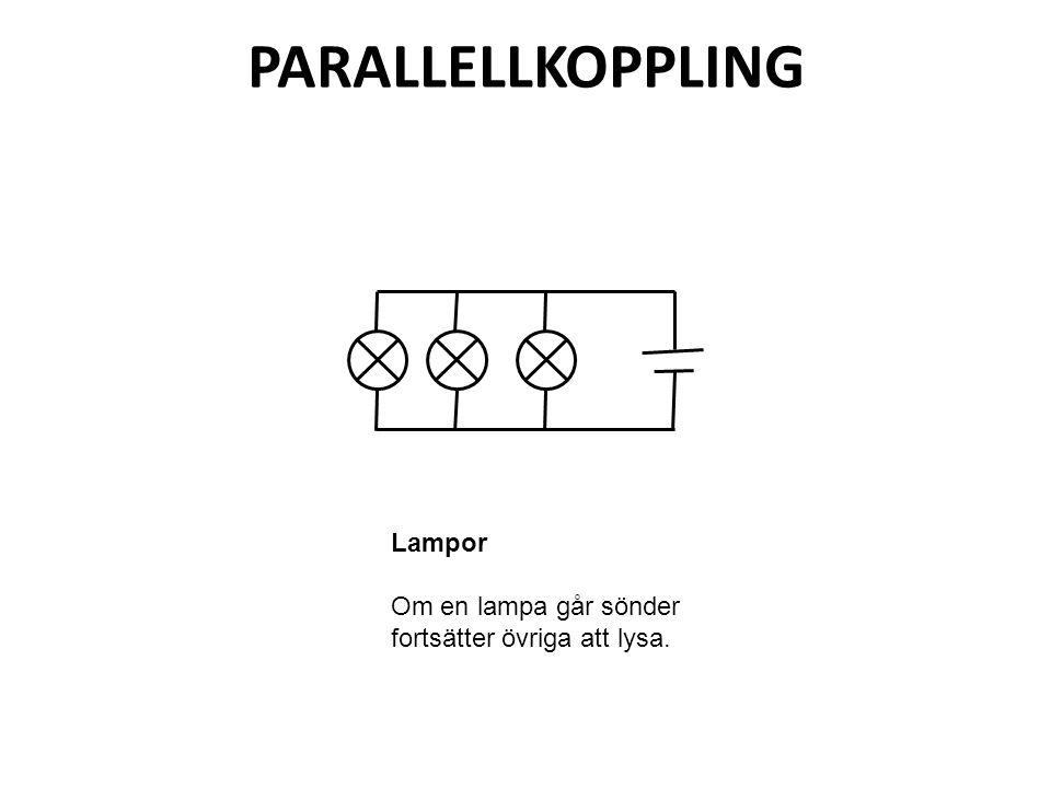 PARALLELLKOPPLING Lampor