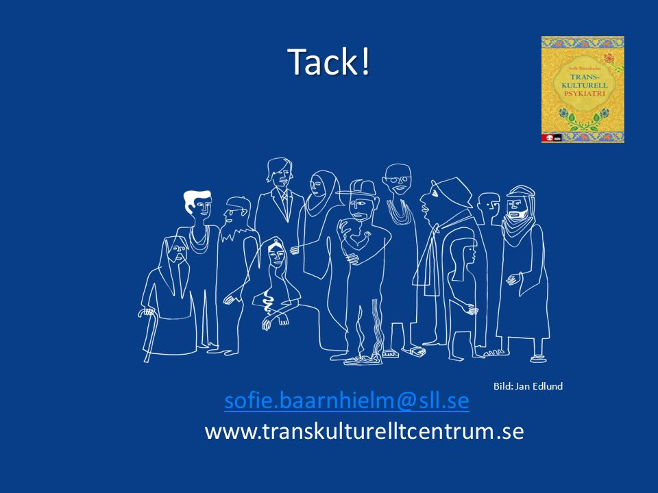 Tack! sofie.baarnhielm@sll.se www.transkulturelltcentrum.se