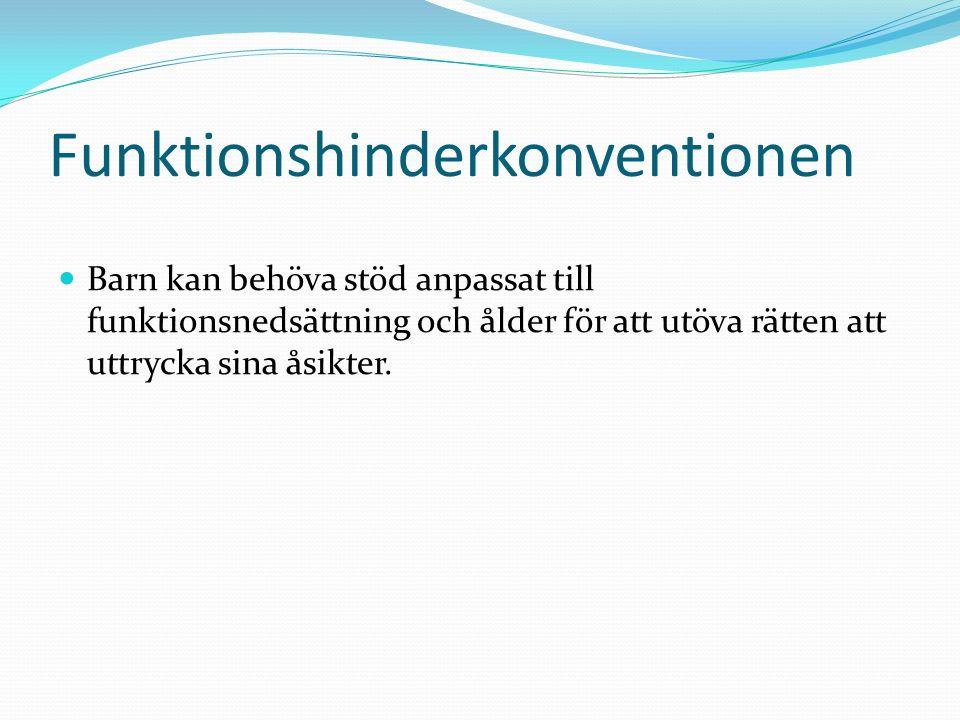 Funktionshinderkonventionen