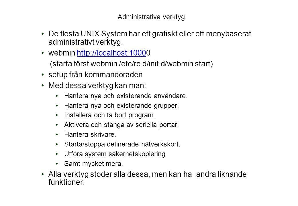 Administrativa verktyg