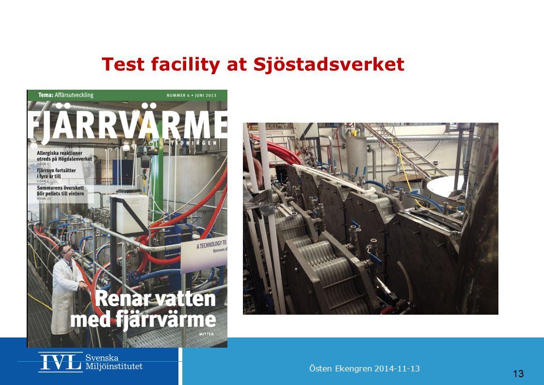 Test facility at Sjöstadsverket