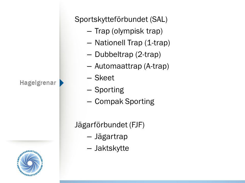 Sportskytteförbundet (SAL) Trap (olympisk trap)