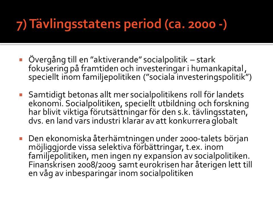7) Tävlingsstatens period (ca. 2000 -)