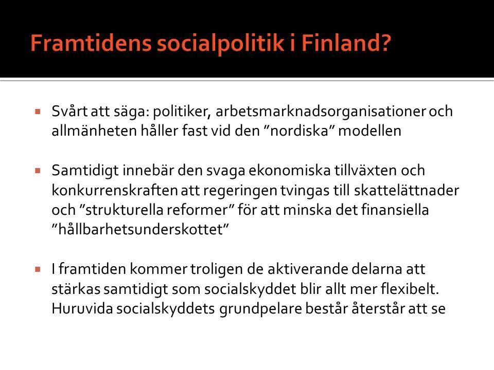 Framtidens socialpolitik i Finland