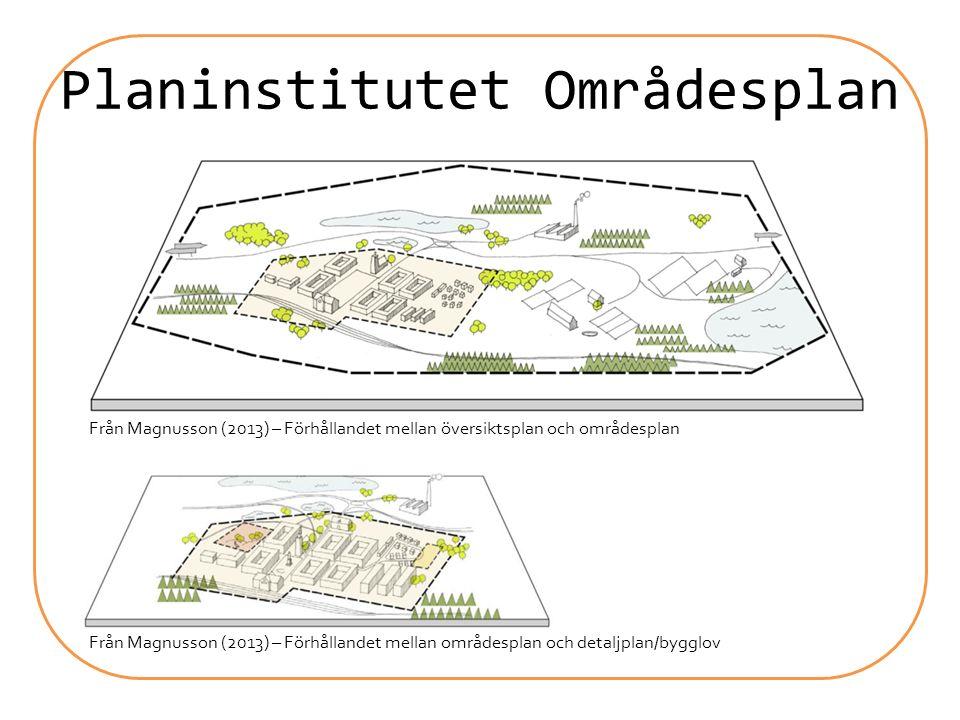 Planinstitutet Områdesplan