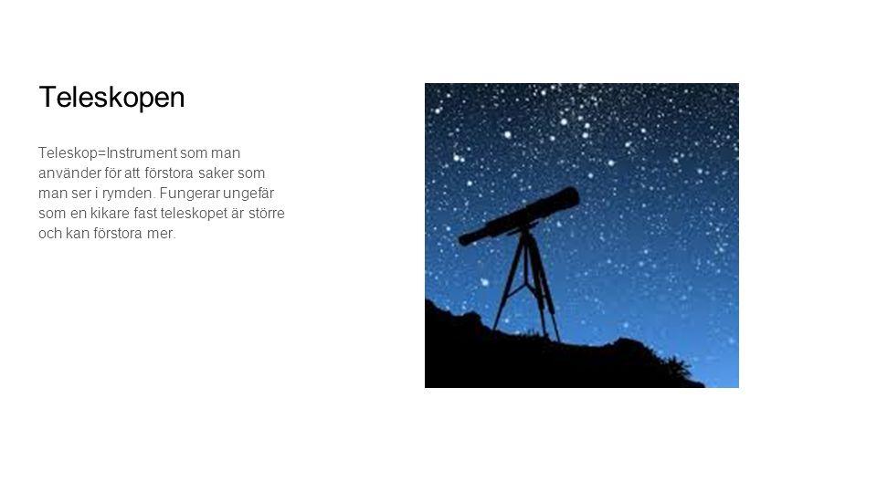 Teleskopen