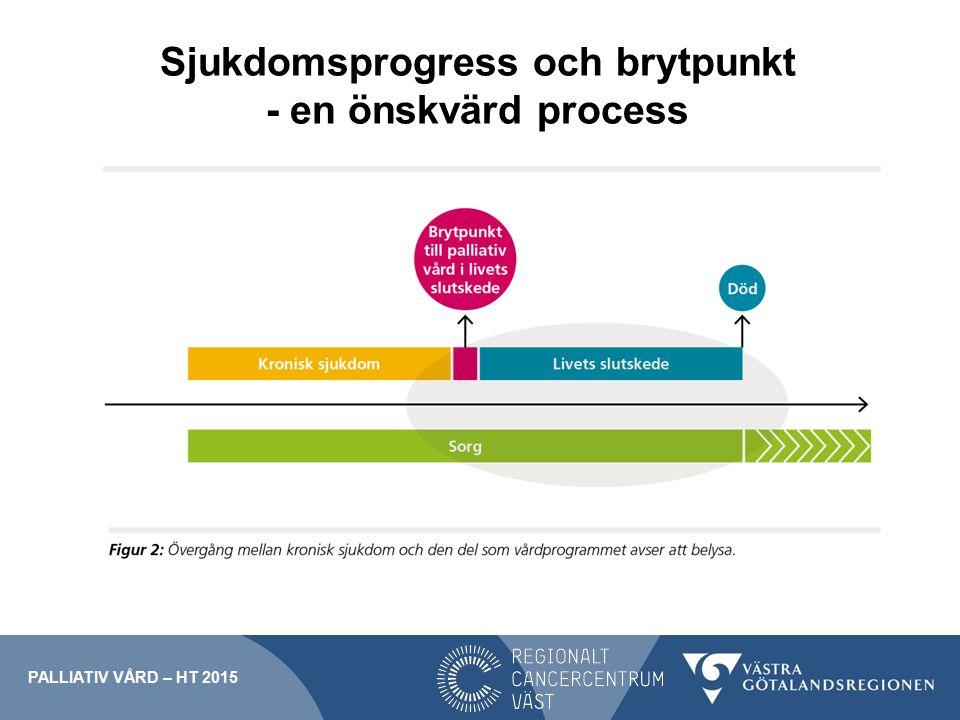 Sjukdomsprogress och brytpunkt - en önskvärd process