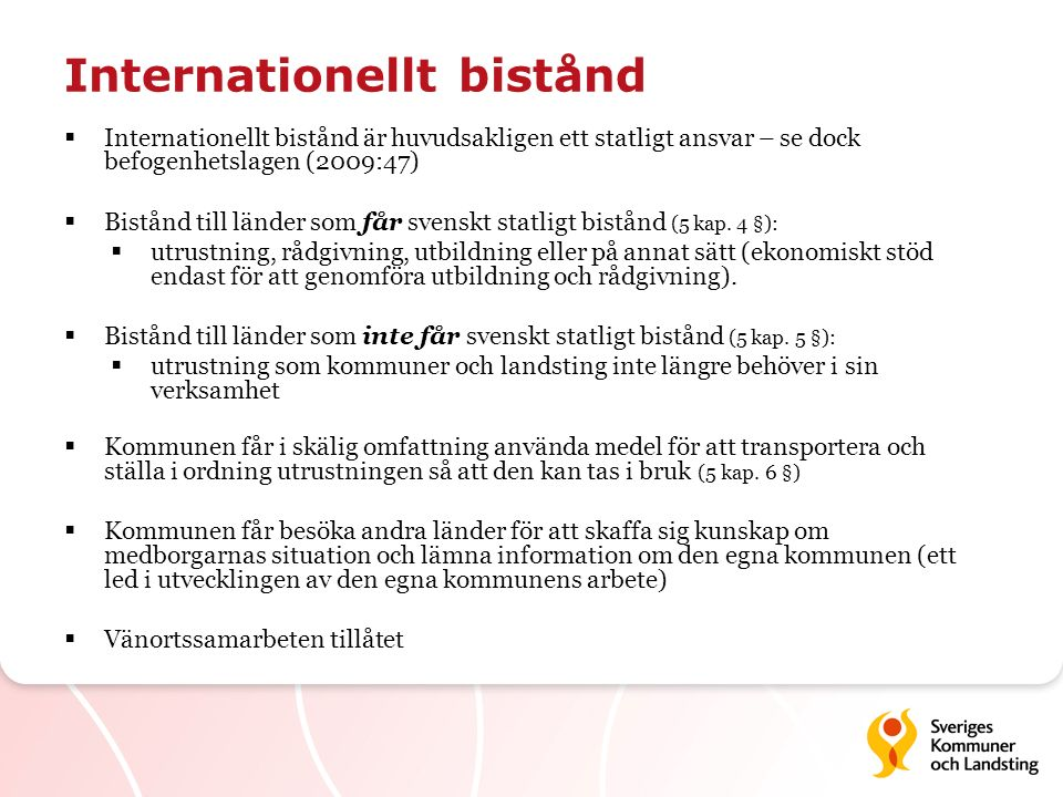 Internationellt bistånd