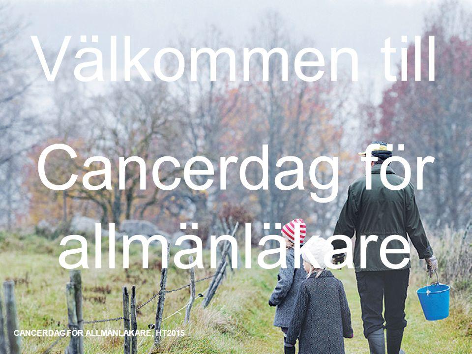 Välkommen till Cancerdag för allmänläkare
