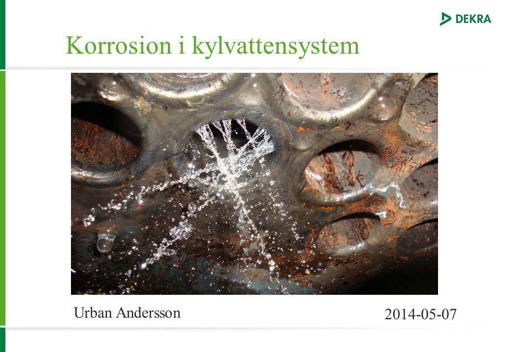 Korrosion i kylvattensystem