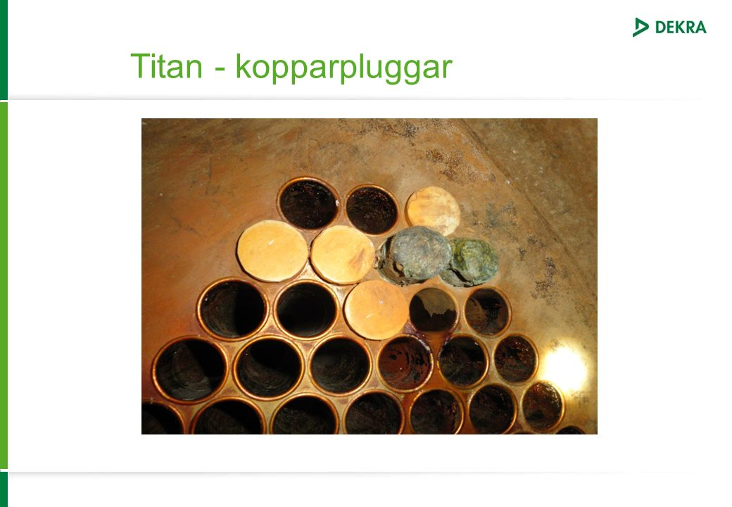 Titan - kopparpluggar