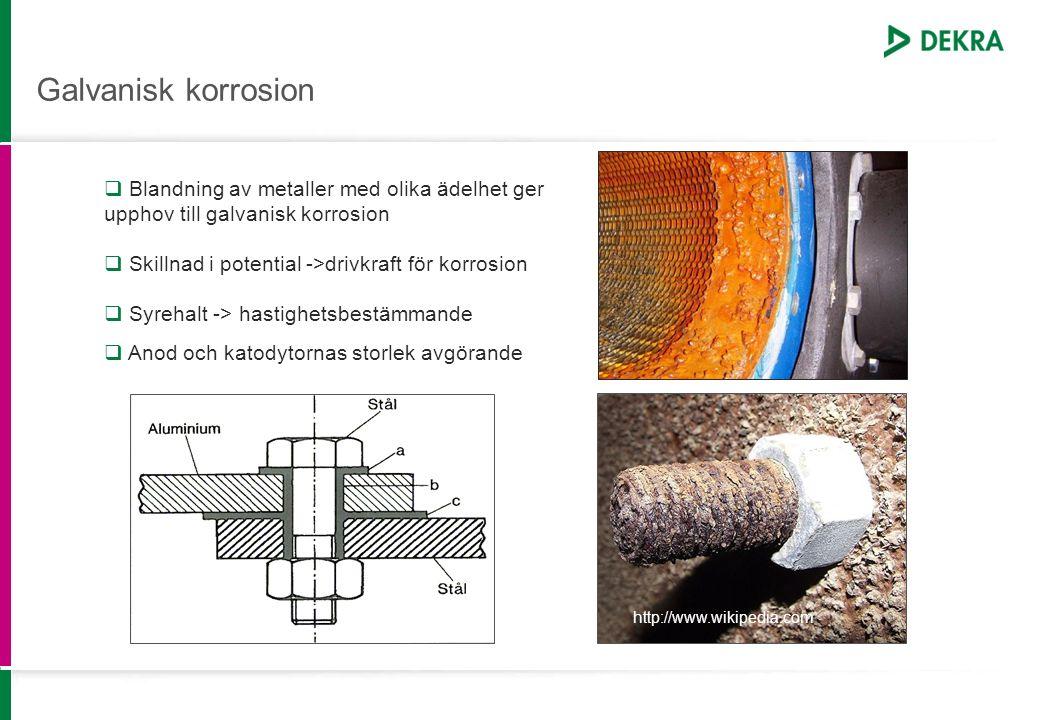 Galvanisk korrosion
