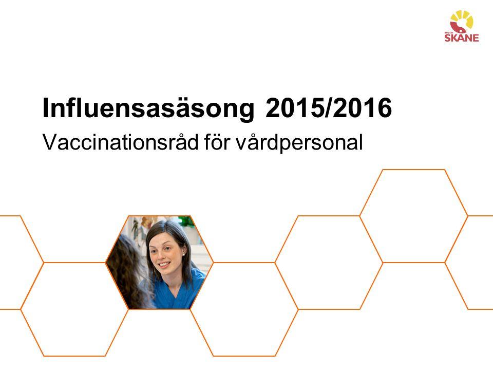 Vaccinationsråd för vårdpersonal
