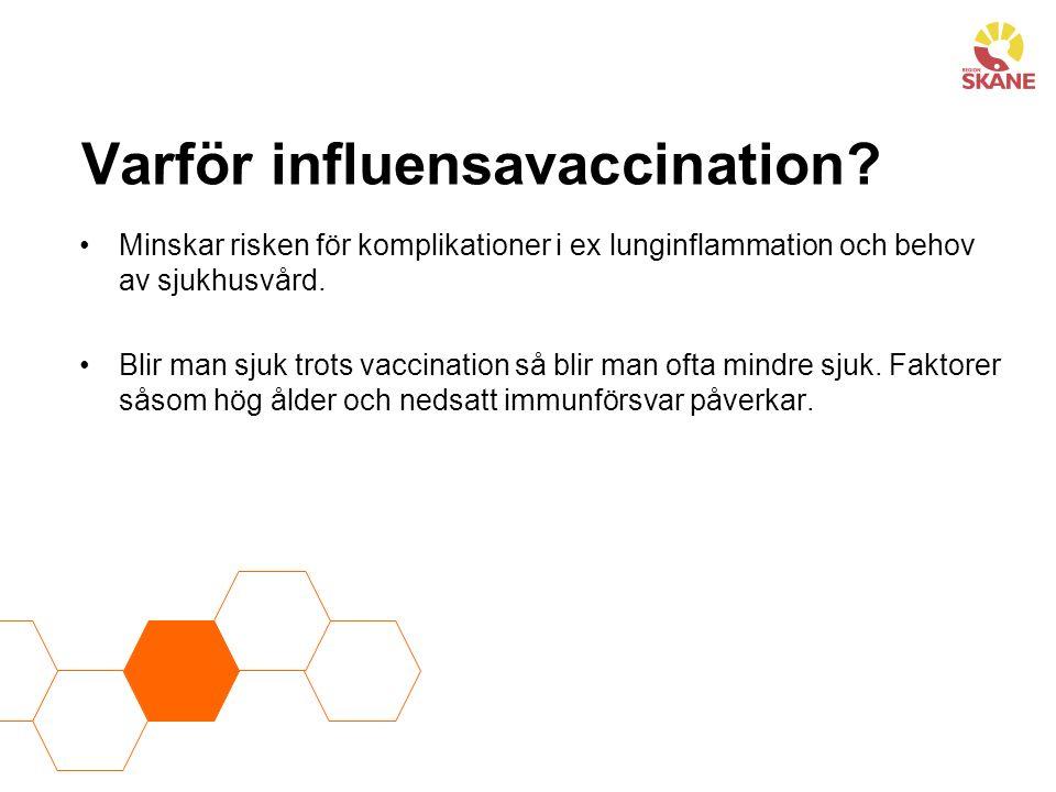 Varför influensavaccination
