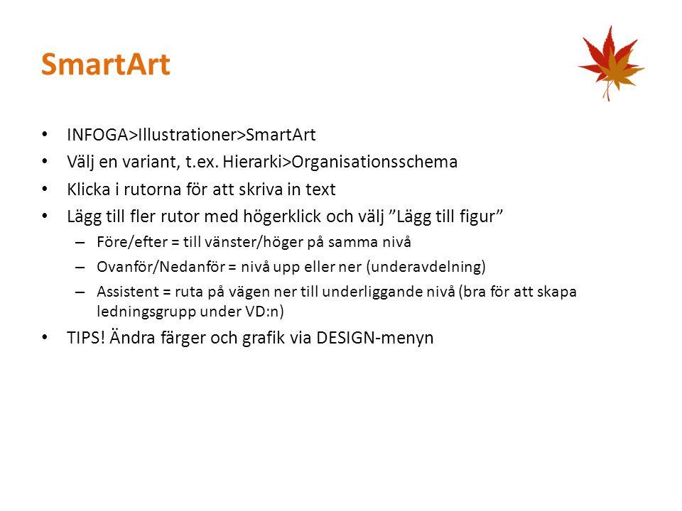SmartArt INFOGA>Illustrationer>SmartArt