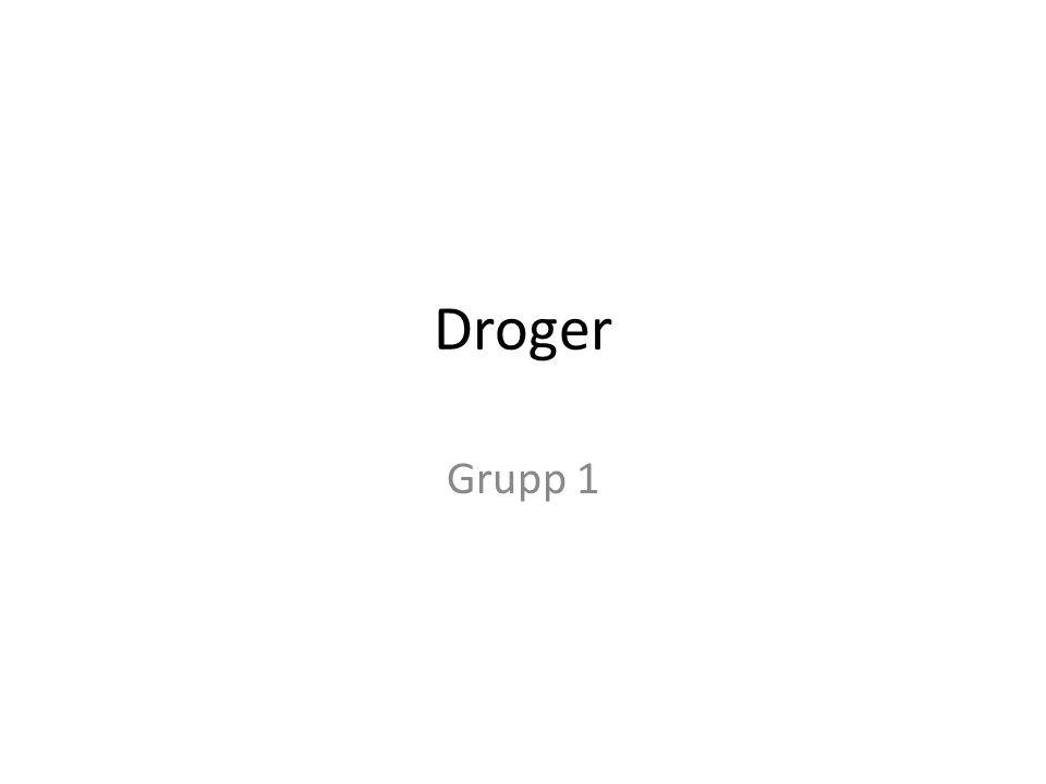 Droger Grupp 1