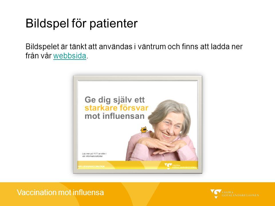 Bildspel för patienter