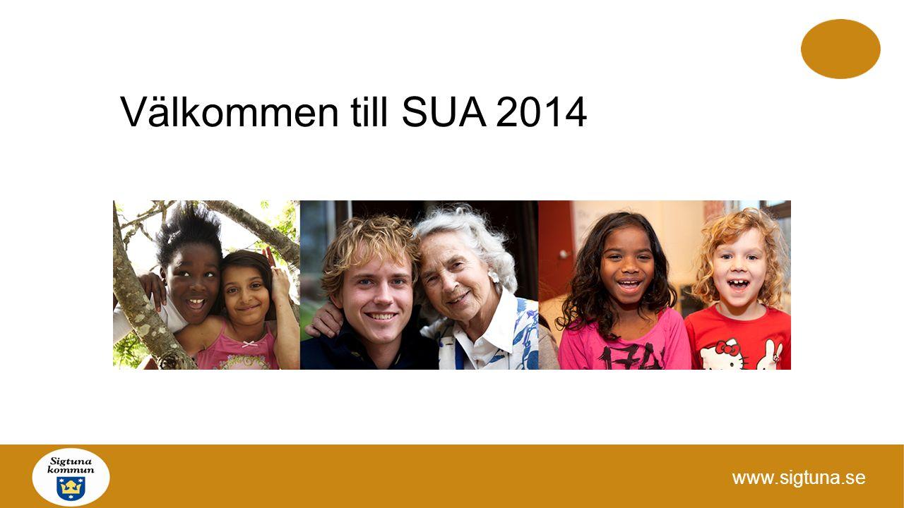 Välkommen till SUA 2014