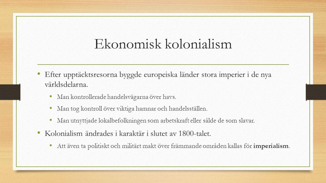 Ekonomisk kolonialism