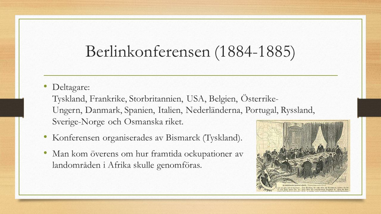 Berlinkonferensen (1884-1885)