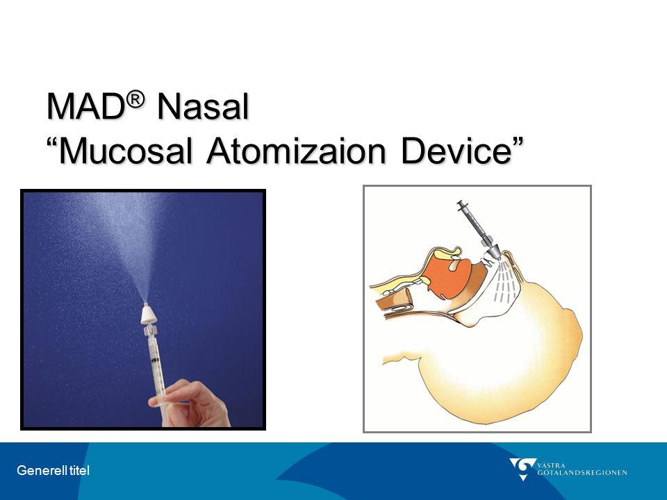 MAD® Nasal Mucosal Atomizaion Device