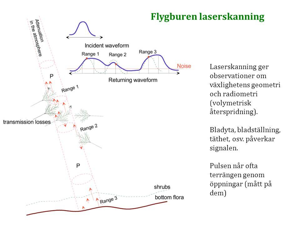 Flygburen laserskanning