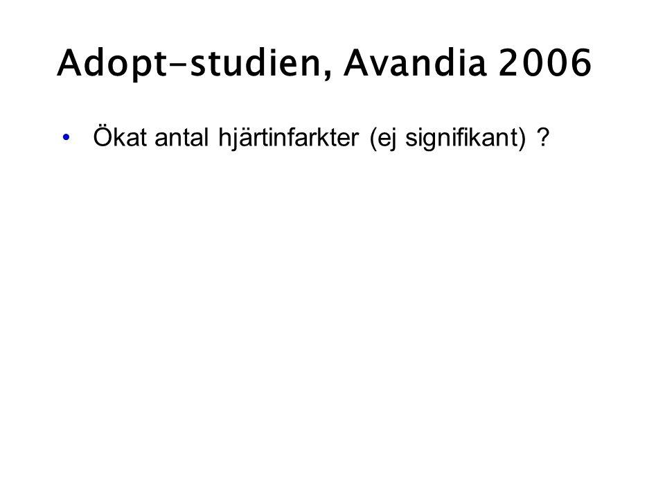 Adopt-studien, Avandia 2006