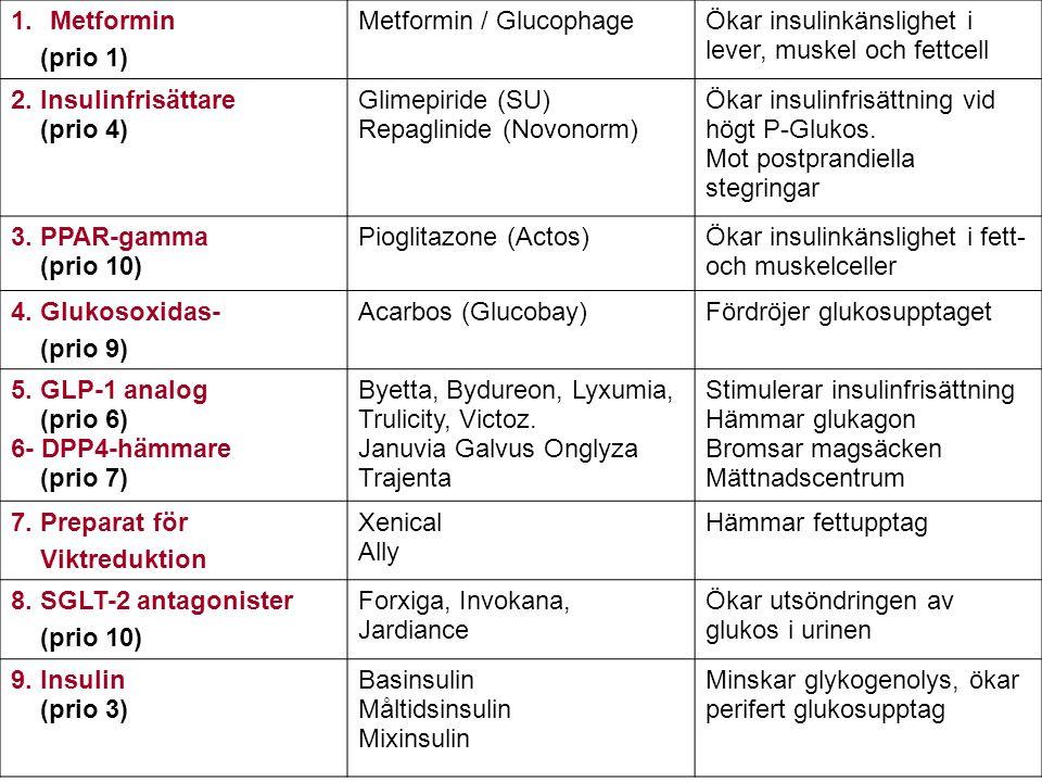 Metformin / Glucophage