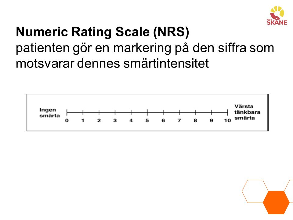 Numeric Rating Scale (NRS)