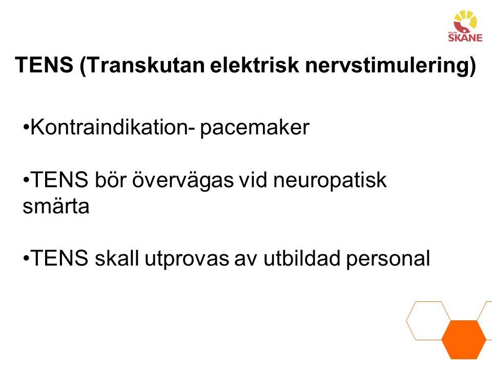 TENS (Transkutan elektrisk nervstimulering)
