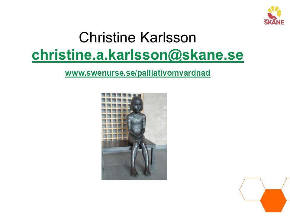 Christine Karlsson christine.a.karlsson@skane.se