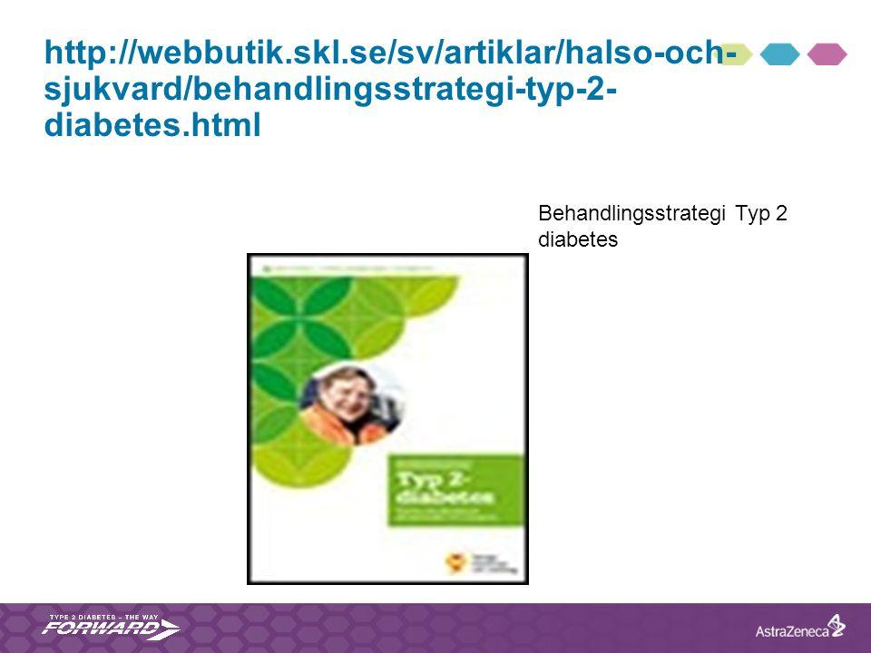 http://webbutik.skl.se/sv/artiklar/halso-och-sjukvard/behandlingsstrategi-typ-2-diabetes.html Behandlingsstrategi Typ 2 diabetes.