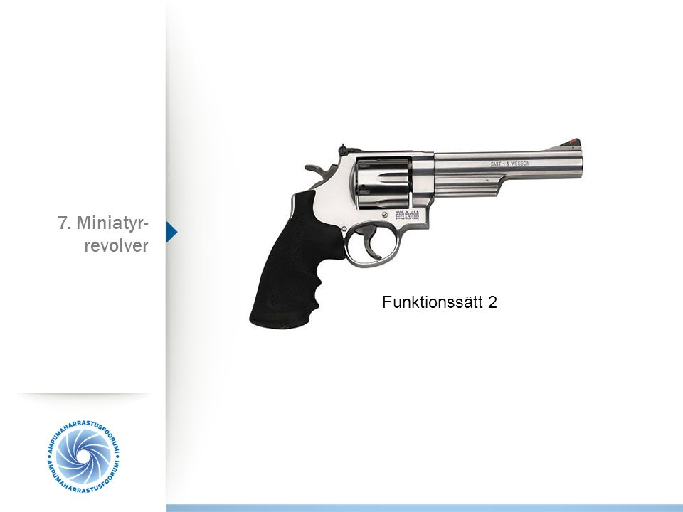 7. Miniatyr-revolver Funktionssätt 2