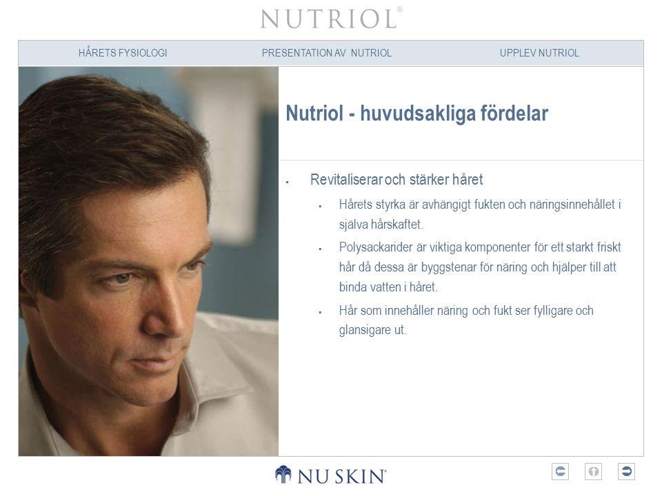 Nutriol - huvudsakliga fördelar