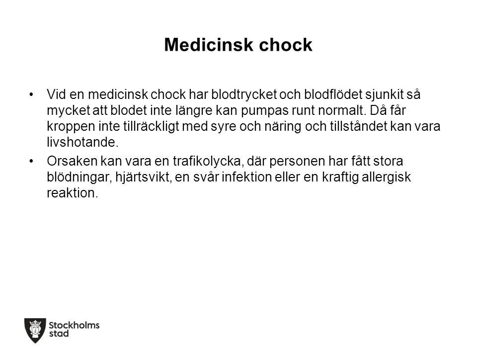 Medicinsk chock