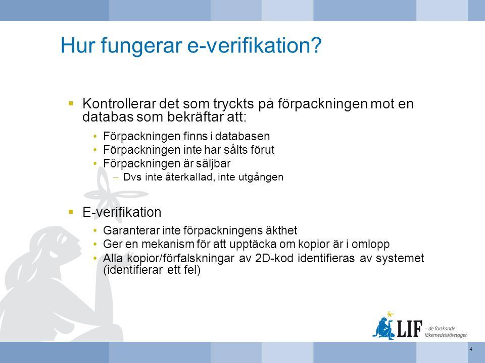 Hur fungerar e-verifikation