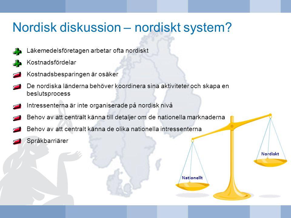 Nordisk diskussion – nordiskt system