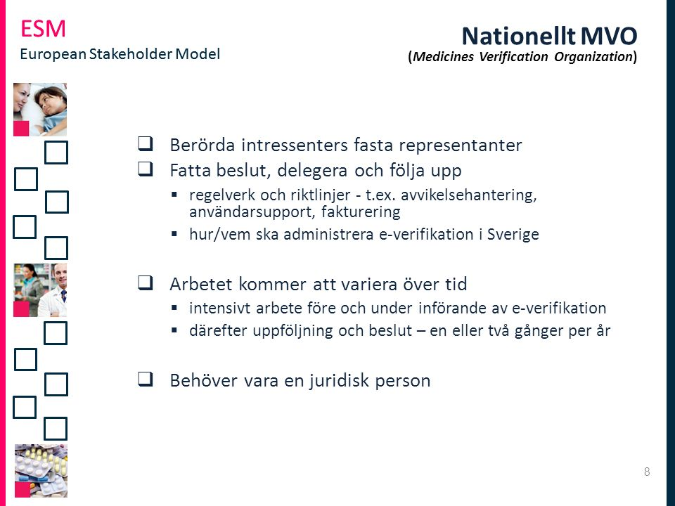 Nationellt MVO (Medicines Verification Organization)