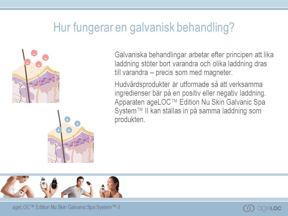 Hur fungerar en galvanisk behandling