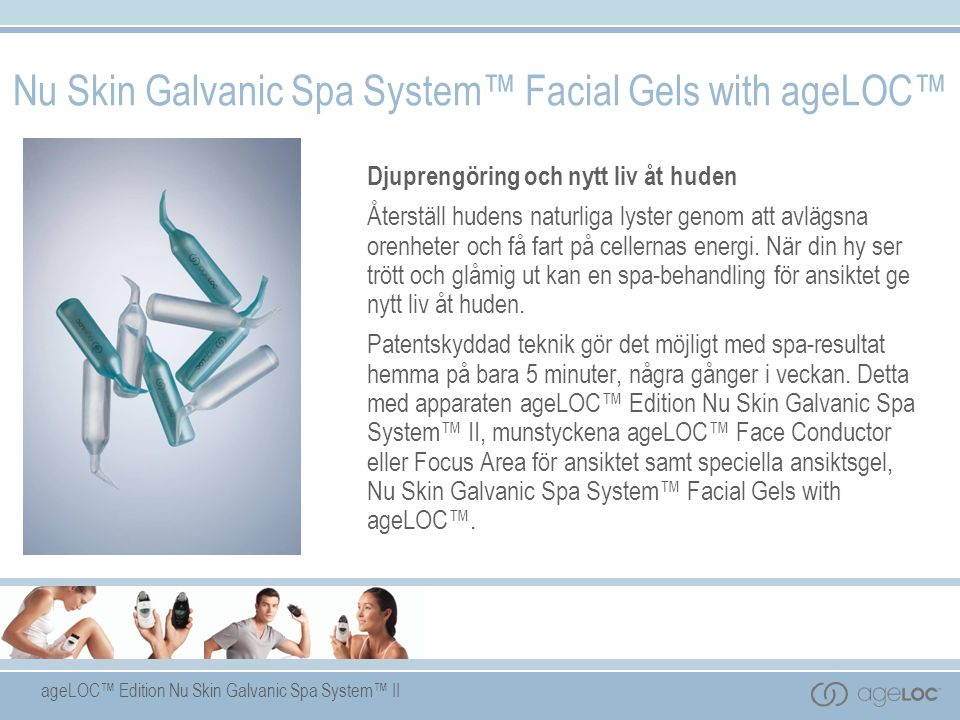 Nu Skin Galvanic Spa System™ Facial Gels with ageLOC™