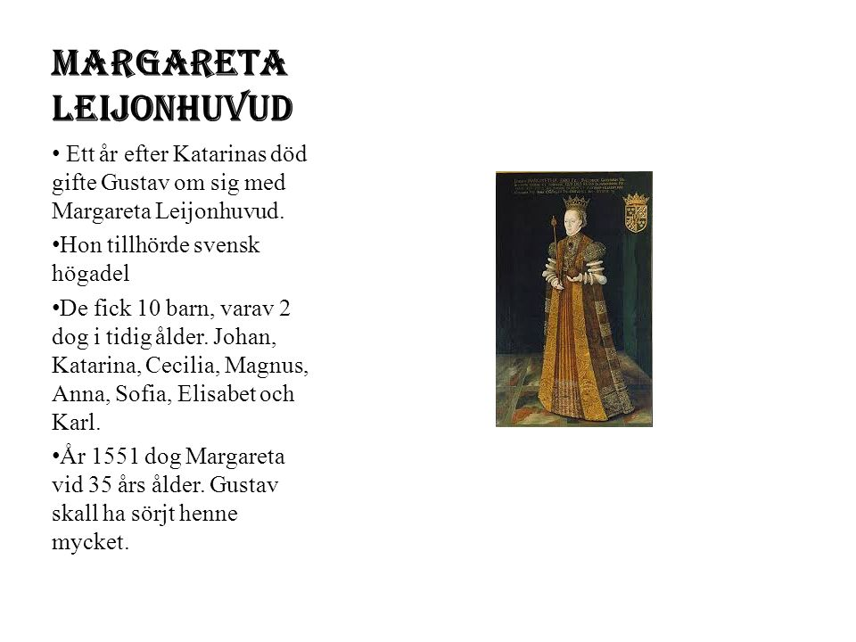Margareta Leijonhuvud