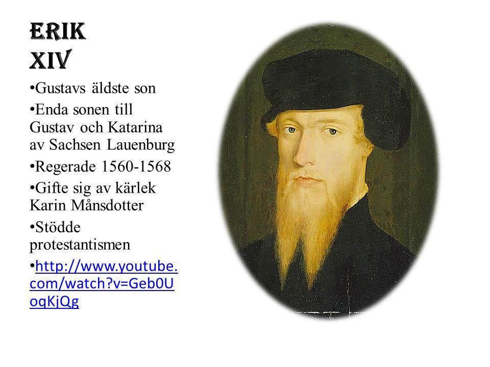 Erik XIV Gustavs äldste son