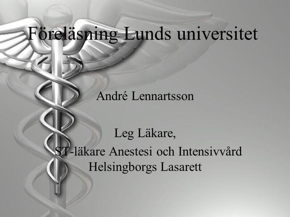 Föreläsning Lunds universitet