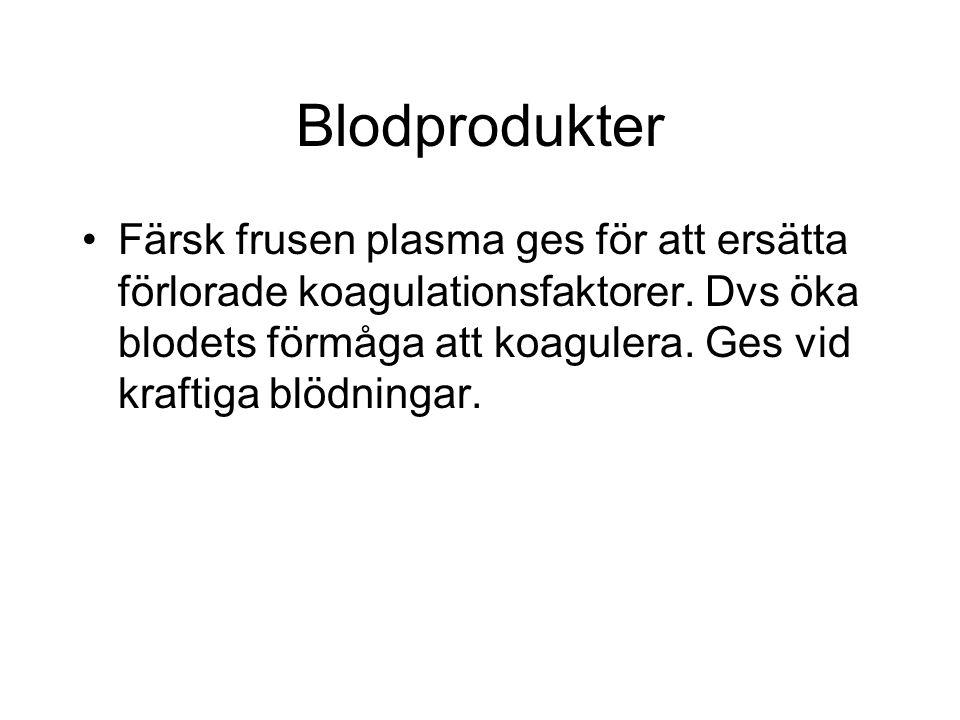 Blodprodukter
