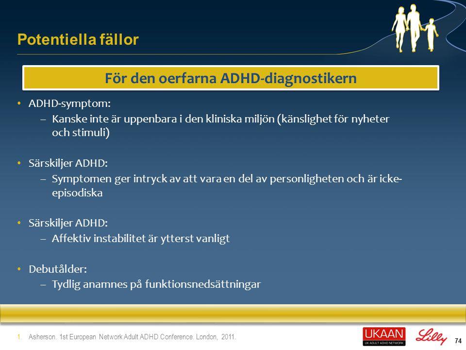 För den oerfarna ADHD-diagnostikern