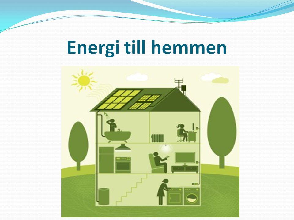 Energi till hemmen